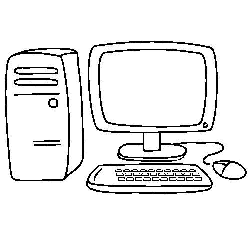 Desenho de Computador 3 para Colorir