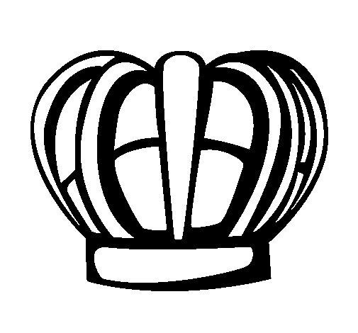 Desenho de Corona para Colorir