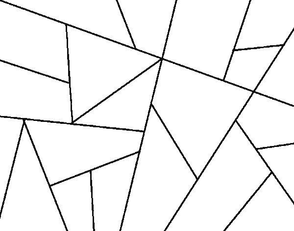 Desenho de Desenho abstrato para Colorir