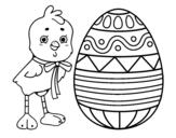 Desenho de Desenho de Páscoa para colorear