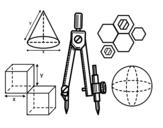 Desenho de Desenho técnico para colorear