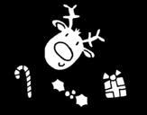 Desenho de Desenhos de Natal para colorear
