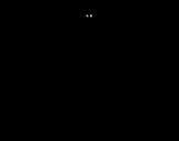 Desenho de Diplodoco jovem para colorear