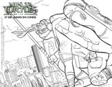 Desenho de Donatello Ninja Turtles para colorear