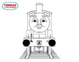 Desenho de Edward de Thomas e seus amigos para colorear