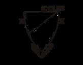 Desenho de Emblema do Athletic Club para colorear