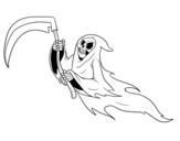 Dibujo de Fantasma da morte