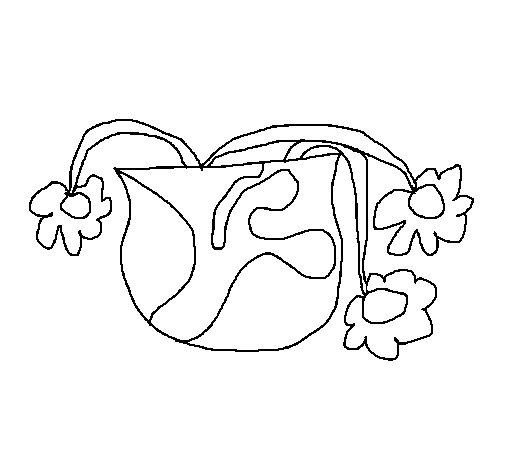Desenho de Flores 5 para Colorir