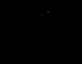 Desenho de Garra de pantera para colorear
