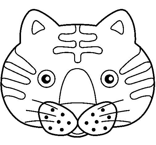 Desenho de Gato II para Colorir