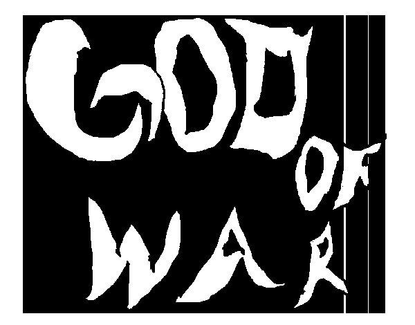 Desenho de God fo war para Colorir