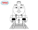 Desenho de Gordon de Thomas e seus amigos para colorear