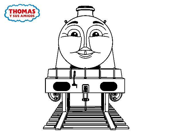 Desenho De Gordon De Thomas E Seus Amigos Para Colorir
