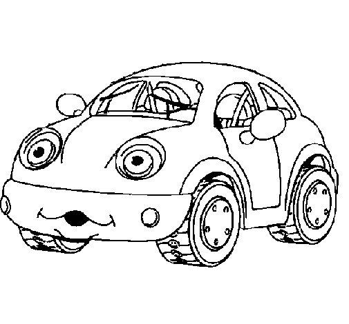 Desenho de Herbie para Colorir