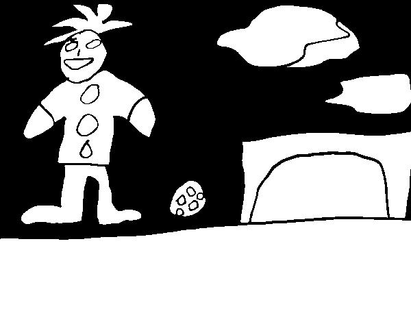 Desenho de Jogo de futebol para Colorir