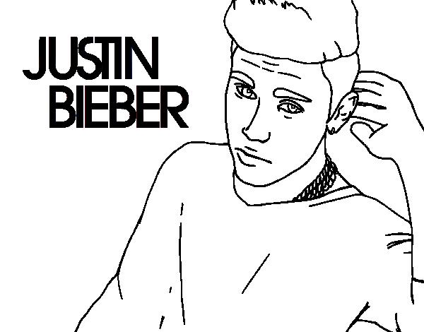 Desenho de justin bieber popstar para colorir - Dessin justin bieber ...