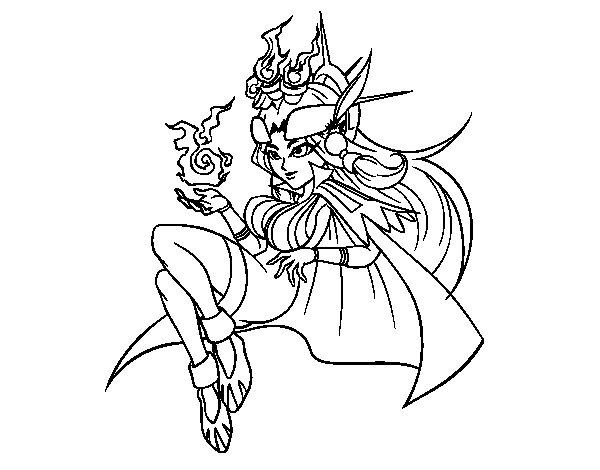 Desenho de Kachina para Colorir
