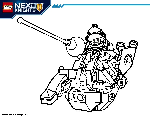 Desenho de Lance Richmon para Colorir