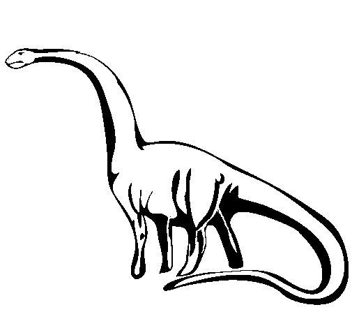 Desenho de Mamenquissauro para Colorir