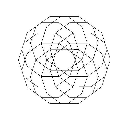 Desenho de Mandala 19 para Colorir