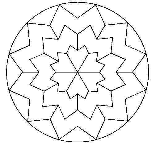 Desenho de Mandala 29 para Colorir