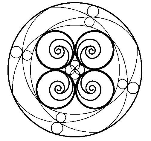 Desenho de Mandala 5 para Colorir