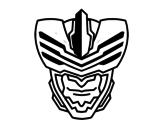 Desenho de Máscara homem mosca para colorear