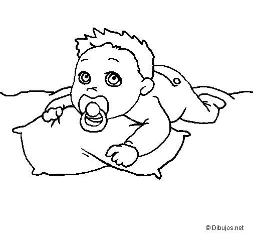 Desenho de Menino a jogar  para Colorir