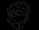 Dibujo de Menino travesso