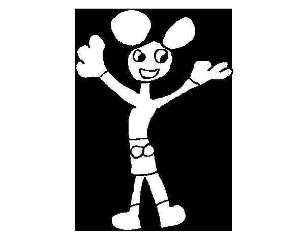 Desenho de Mickey para Colorir