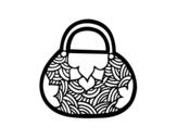 Desenho de Mini sacola de inspiração japonesa para colorear