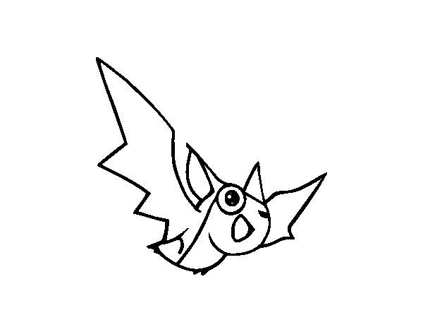 Muito Desenho de Morcego para Colorir - Colorir.com JD83