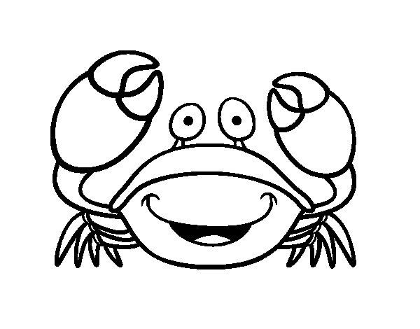 Desenho de Navalheira para Colorir