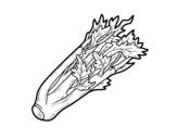 Desenho de O aipo para colorear