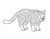 Desenho de O chita para colorear