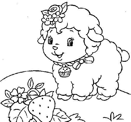 Desenho de Ovelha 4 para Colorir