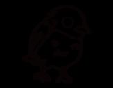 Desenho de Pardais para colorear