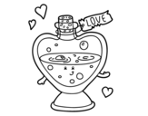 Desenho de Pocão de amor para colorear