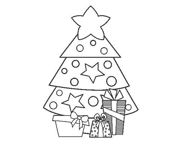 Desenho de Presentes 2 para Colorir