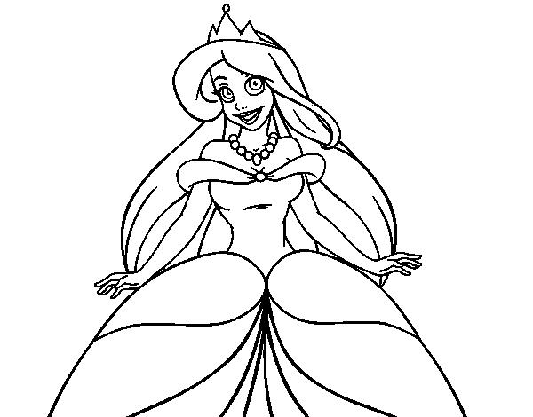 Princesas Disney Dibujos Para Colorear De Jasmín: Desenho De Princesa Ariel Para Colorir
