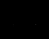 Desenho de Pulmões e brônquios para colorear
