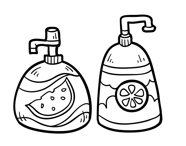 shampoo matizador sache coloring pages - photo#10