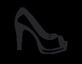 Dibujo de Sapatos bonitos