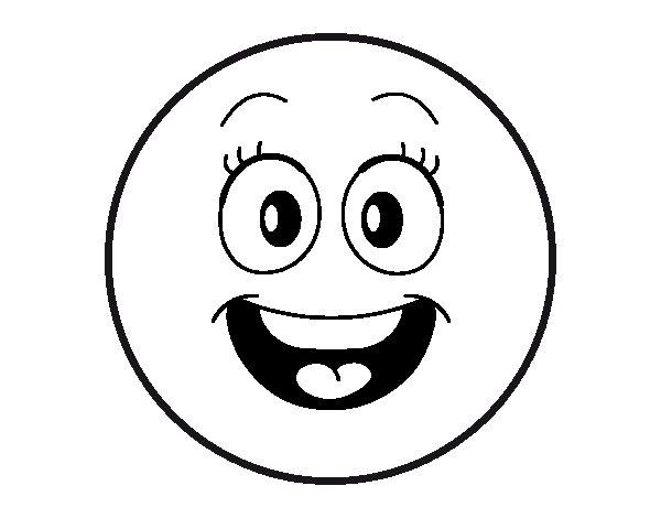 Desenho de Smiley para Colorir