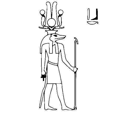 Desenho de Sobek para Colorir
