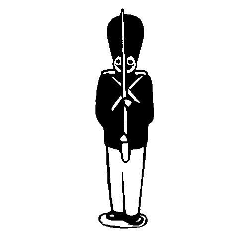 Desenho de Soldado de chumbo para Colorir