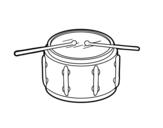 Desenho de Tarol para colorear