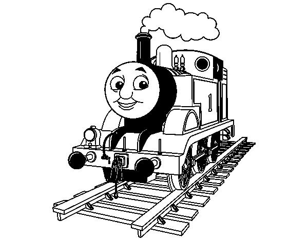 Desenho De Thomas A Locomotiva Para Colorir