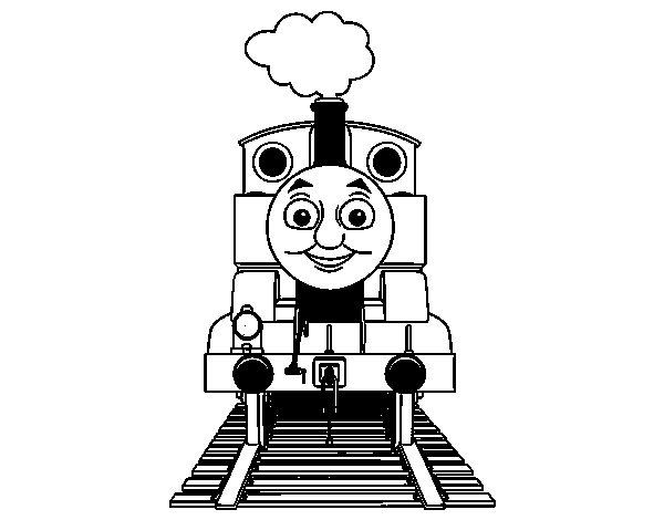 Desenho de Thomas de Thomas e seus amigos para Colorir