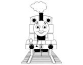 Dibujo de Thomas de Thomas e seus amigos
